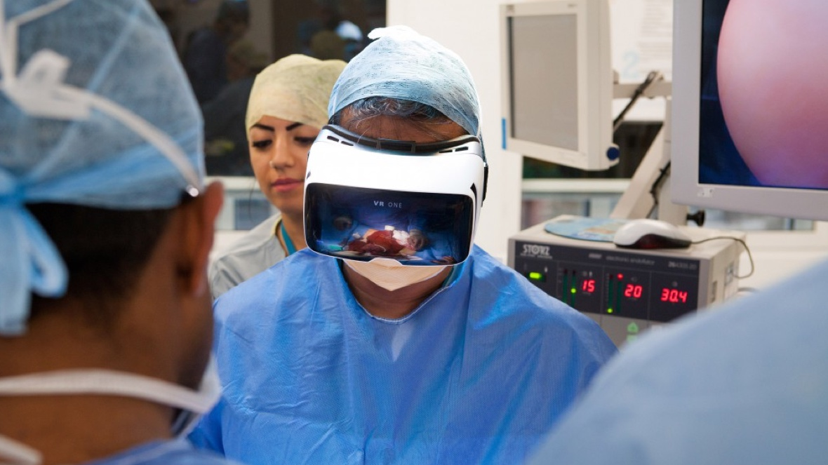 Watch the first VR livestream surgery