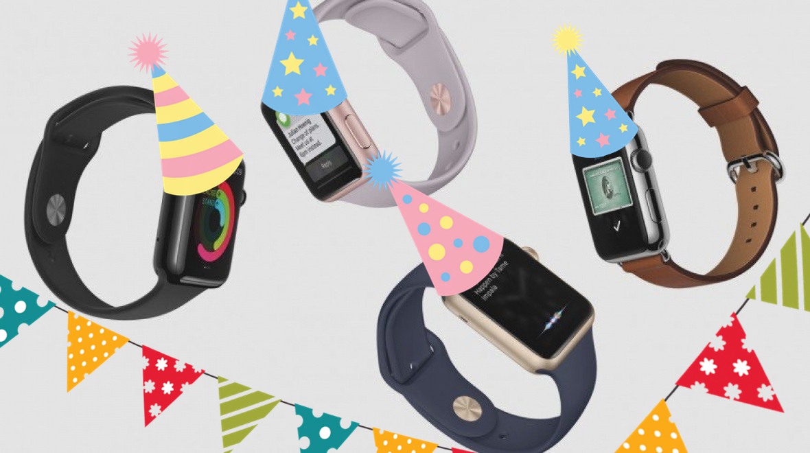 Happy birthday Apple Watch