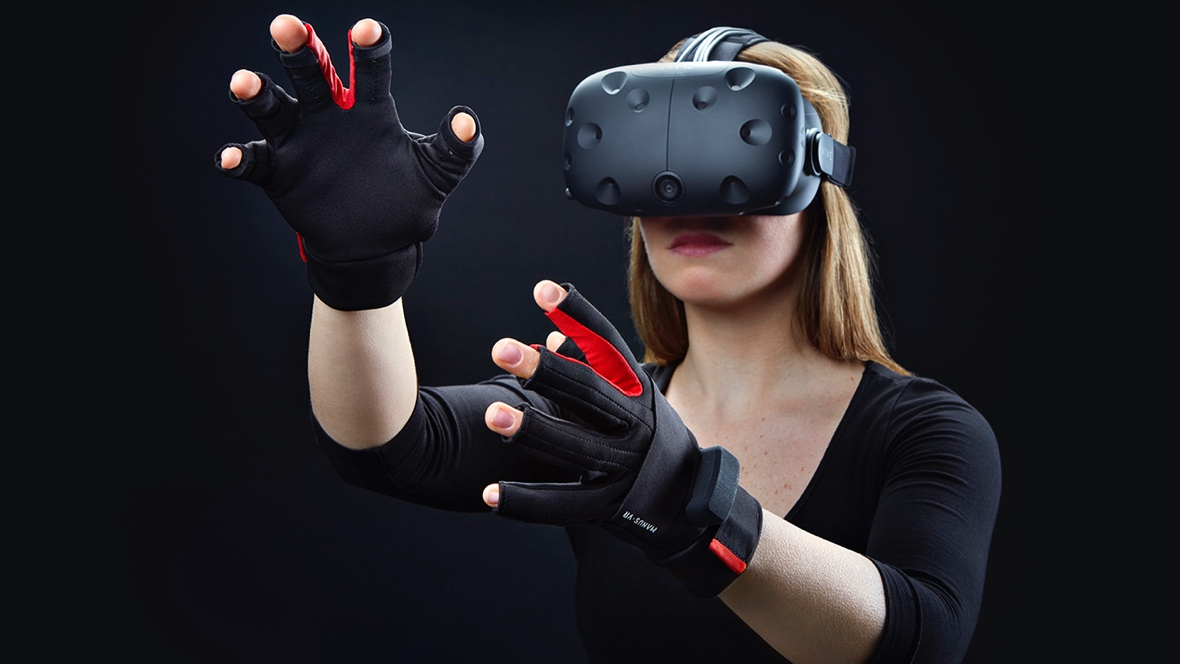 Manus VR gloves adds arm tracking