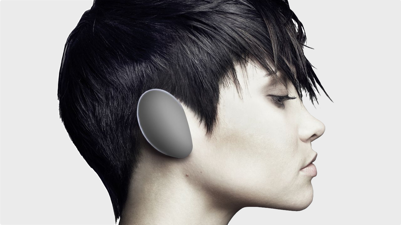 Sci-fi headphones take on smart earbuds