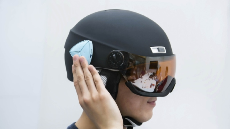 And finally: Samsung helmet incoming