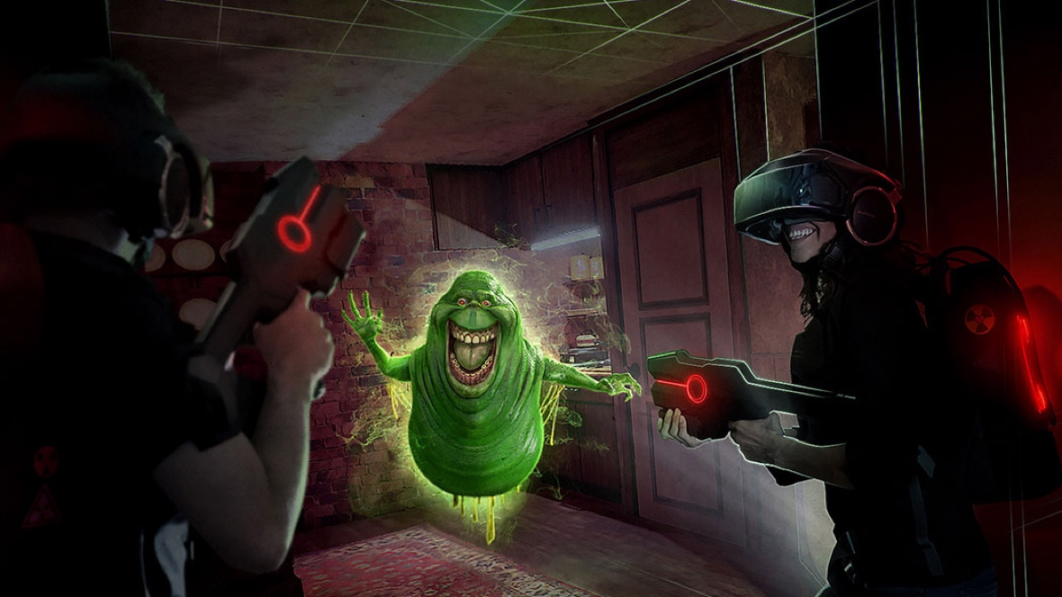 Ghostbusters VR with The Void