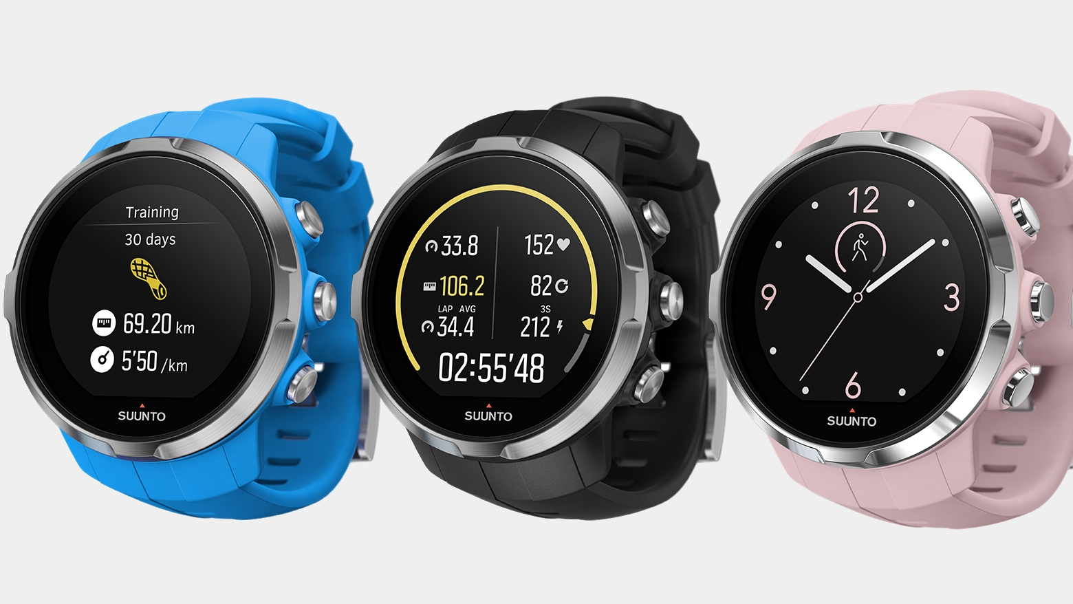 Suunto Spartan Sport GPS watch announced