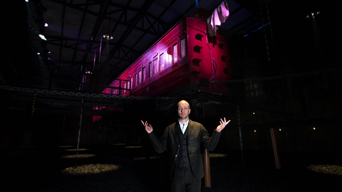 I survived Derren Brown's Ghost Train