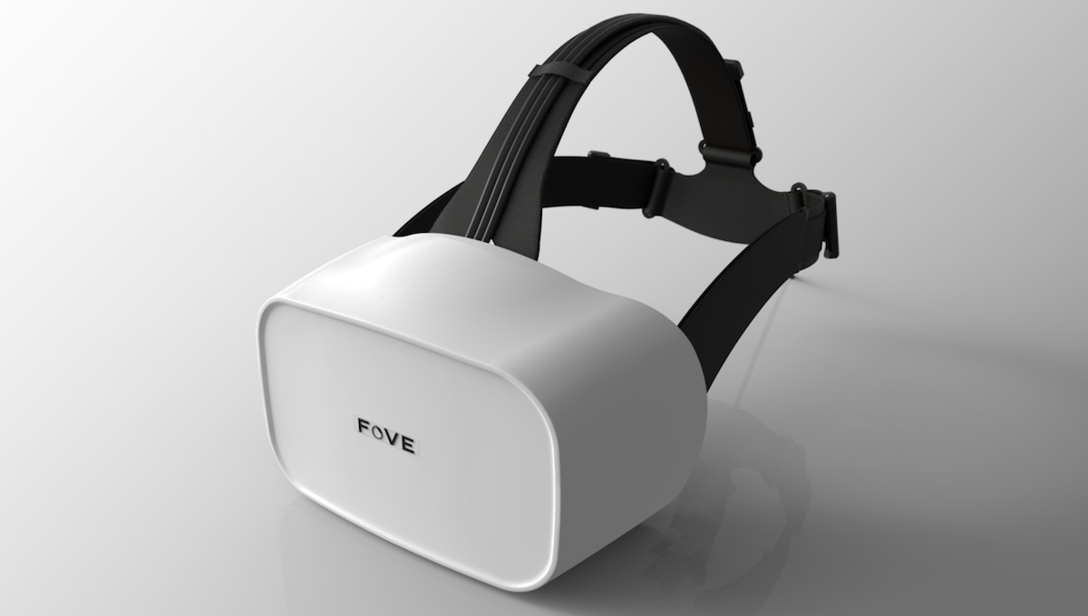 Fove VR eye-tracking headset redesigned