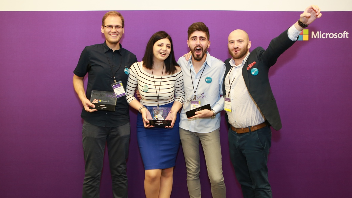 Wearables win big at Microsoft Imagine Cup