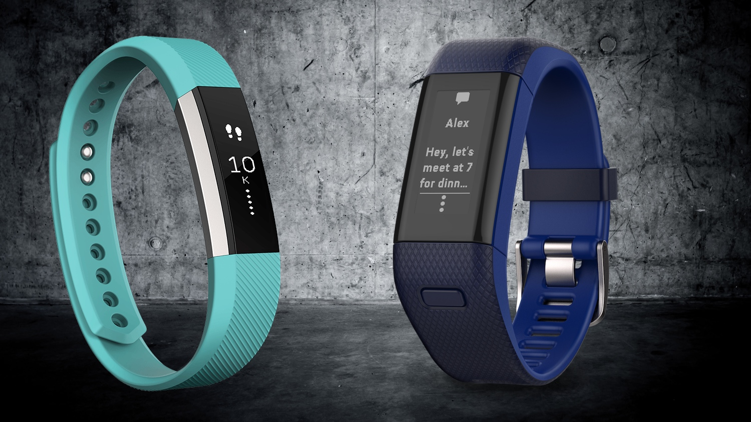 Fitbit Alta v Garmin Vivosmart HR+: Fitness tracker face-off