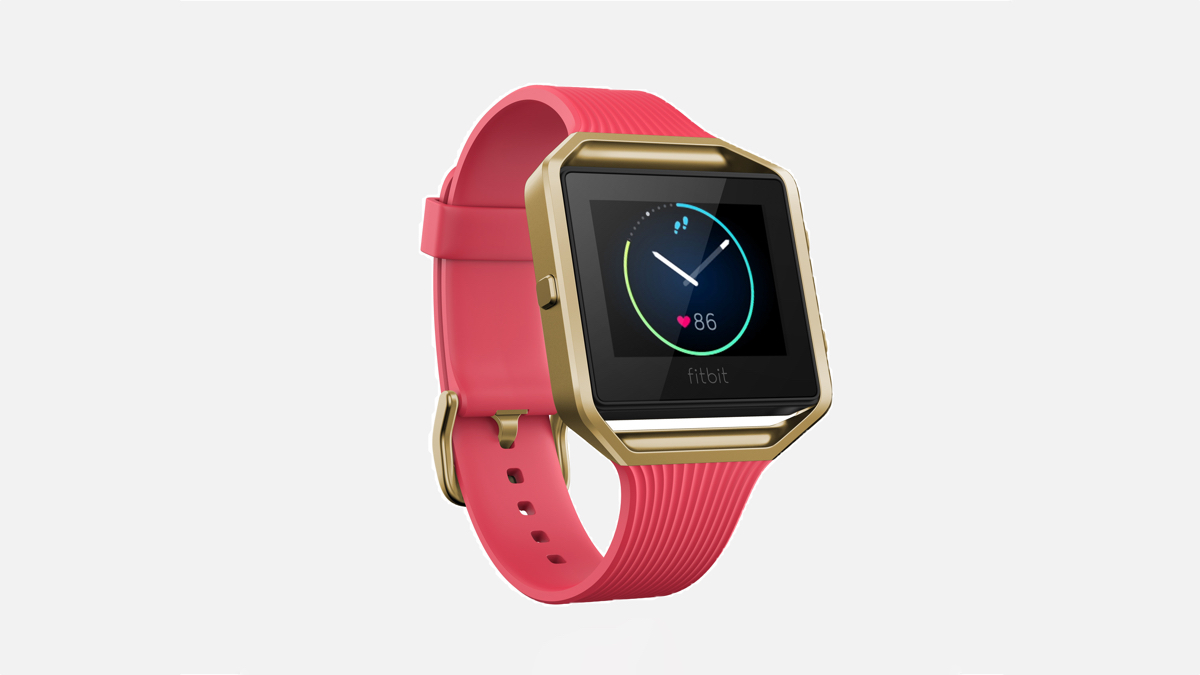 Fitbit Blaze goes for gold