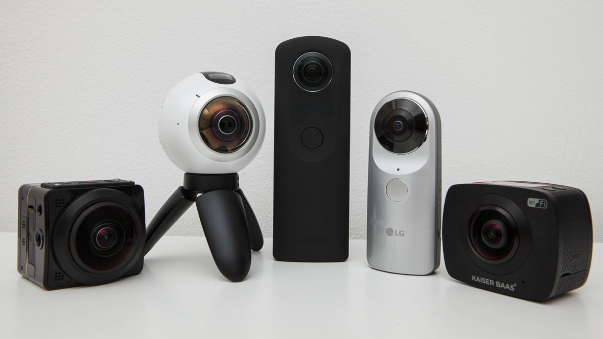 Wareable big test: 5 360-degree cameras go head-to-head