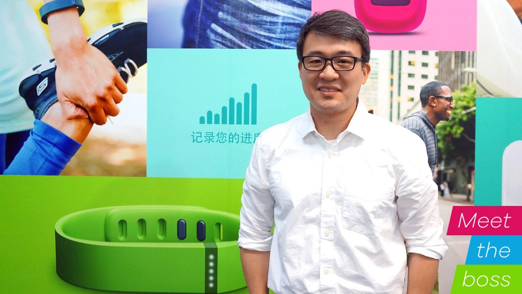 Meet the boss: Fitbit CEO James Park