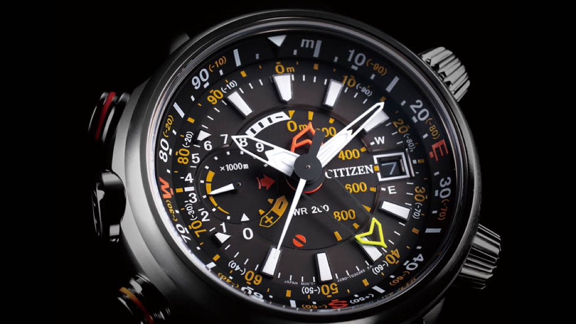 Citizen is launching a solar-powered smartwatch in time