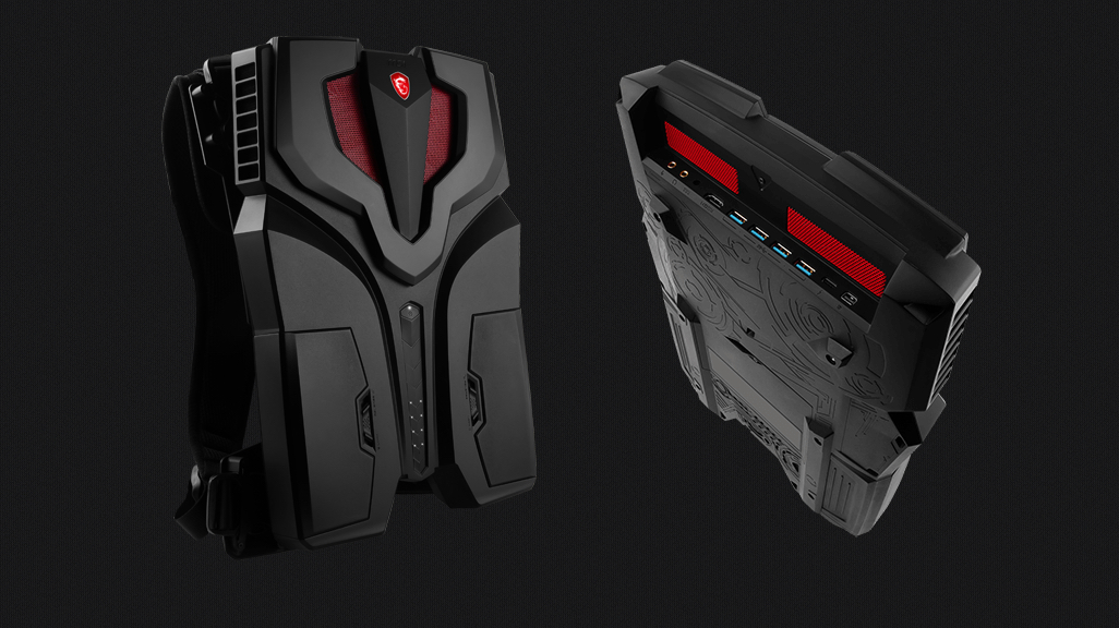 MSI reveals its VR backpack