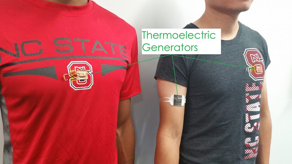 This tech charges gadgets with body heat