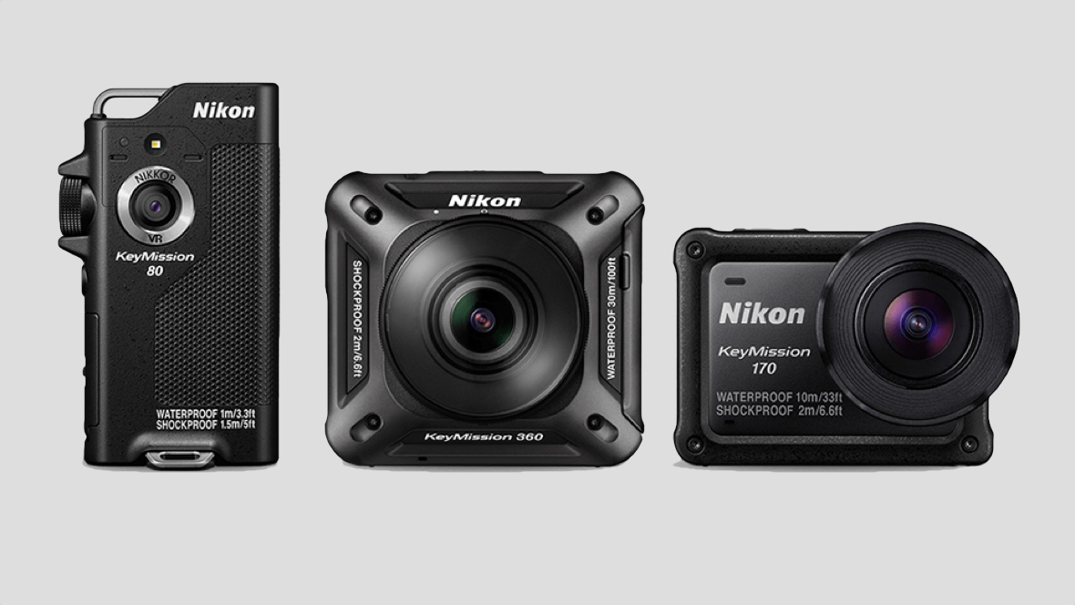 Nikon announces two new action cams