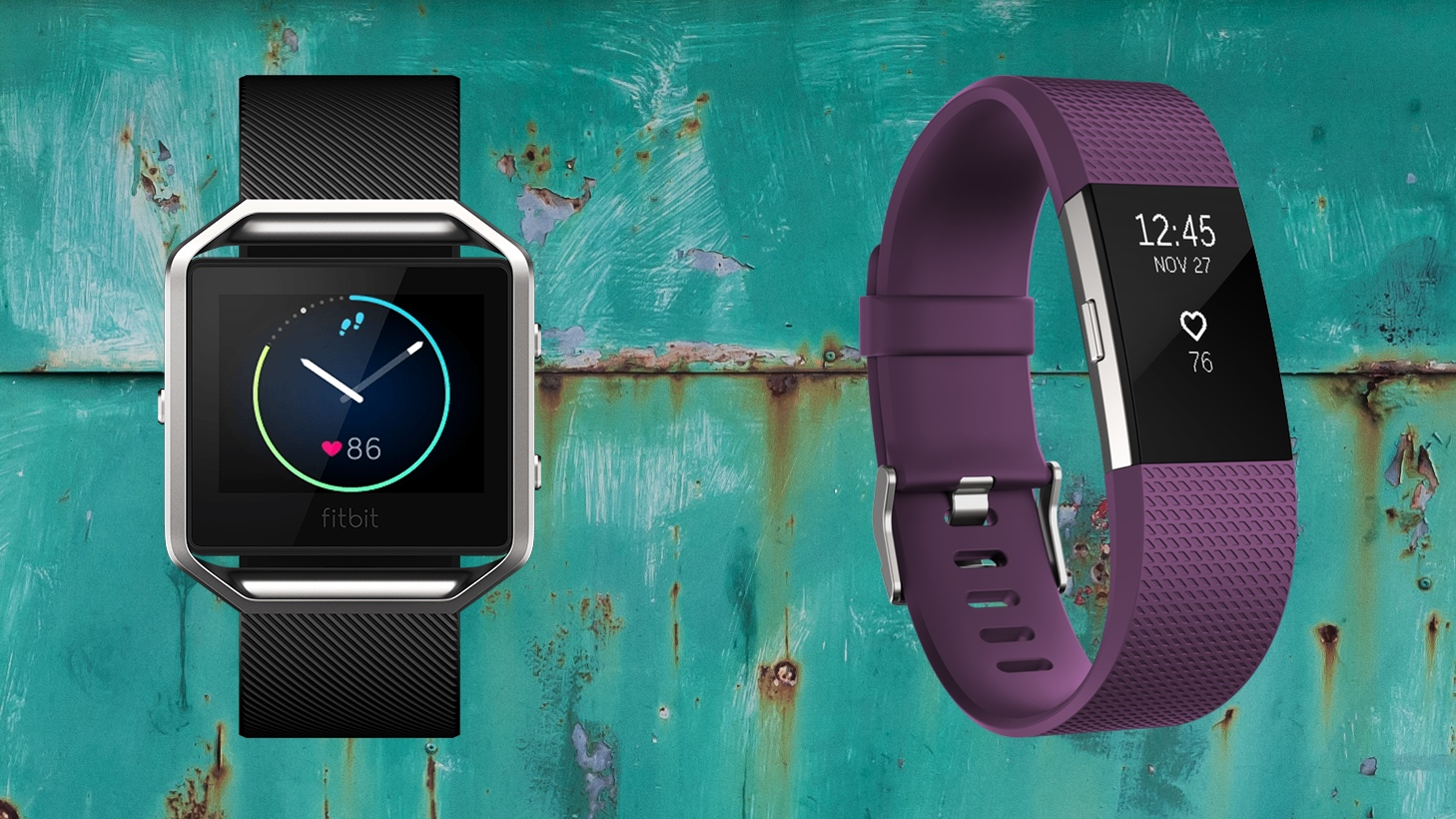 Fitbit Charge 2 v Fitbit Blaze