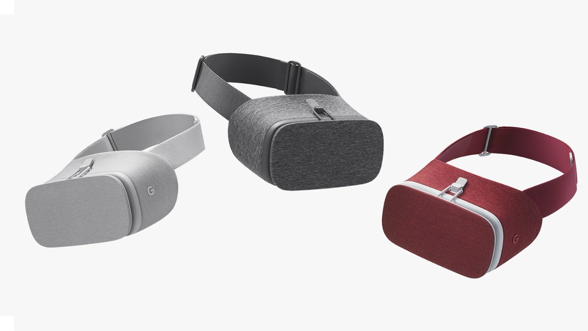 Google's Daydream View VR headset is landing November 10