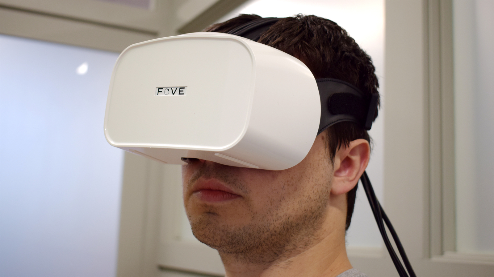 Hands on with the eye-tracking Fove