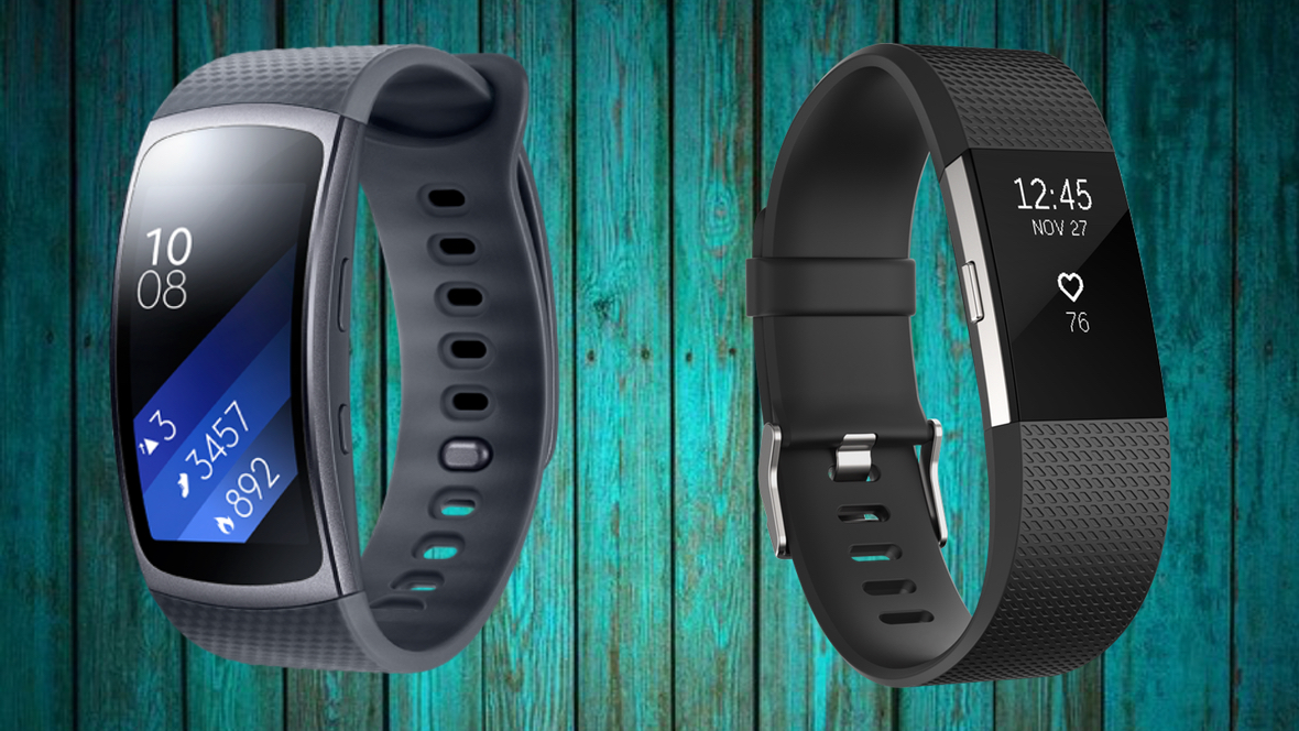 Samsung Gear Fit2 v Fitbit Charge 2