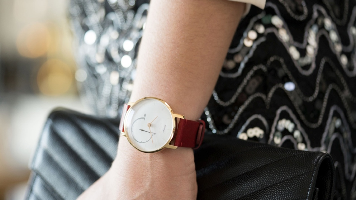 Withings Steel Gold brings the bling