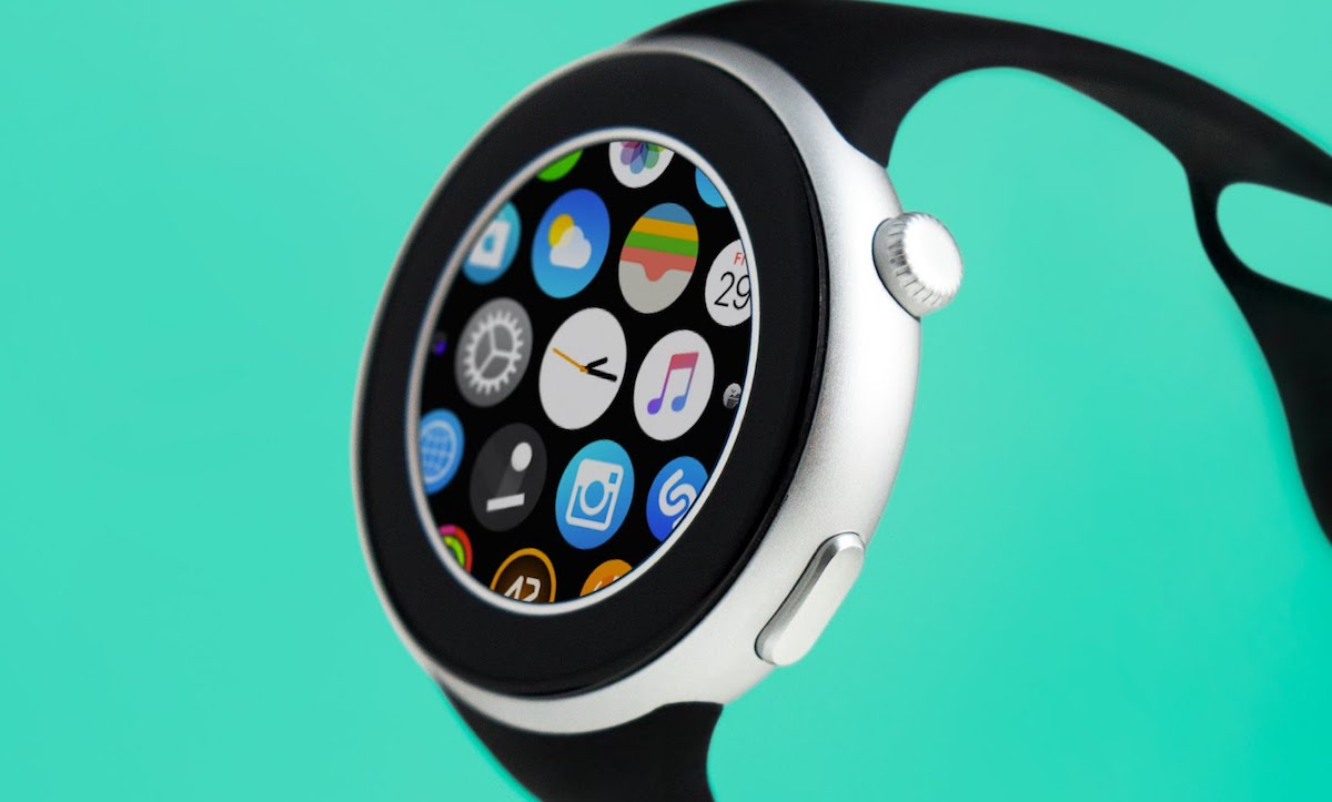 And finally: Apple Watch goes round