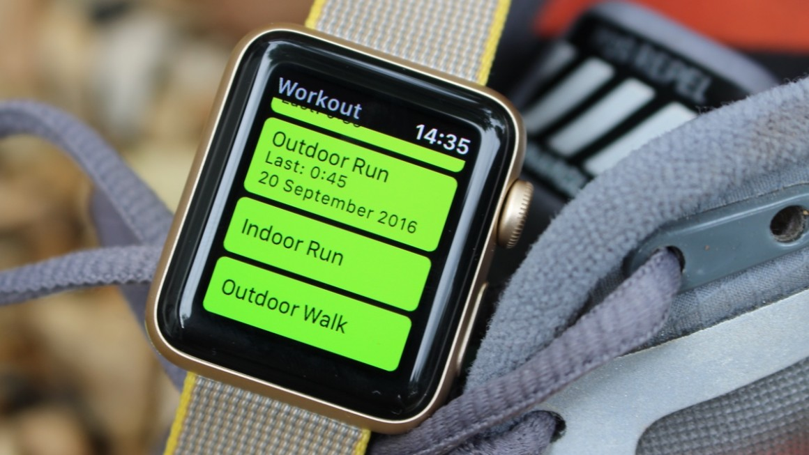 Runkeeper taps into GPS on Watch Series 2