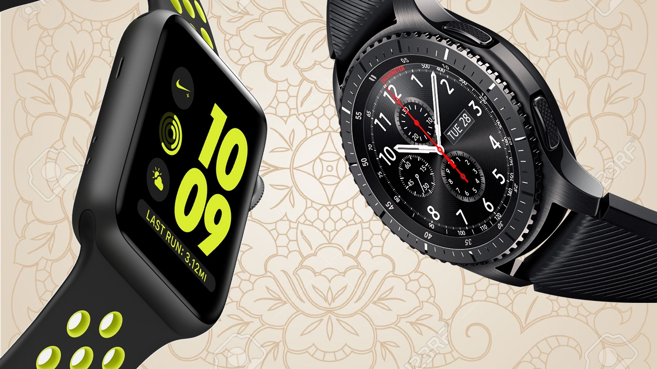 Samsung Gear S3 v Apple Watch 2
