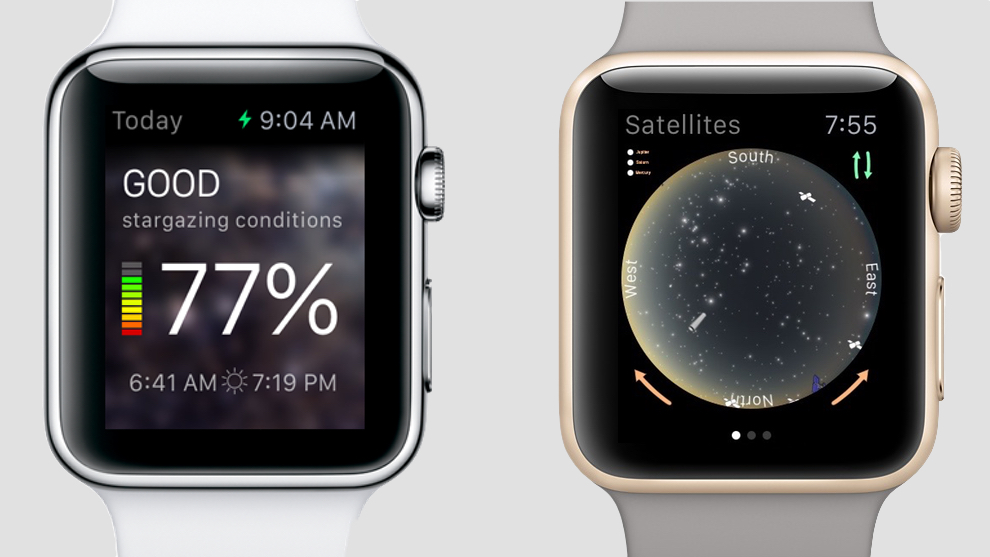 The best smartwatch stargazing apps