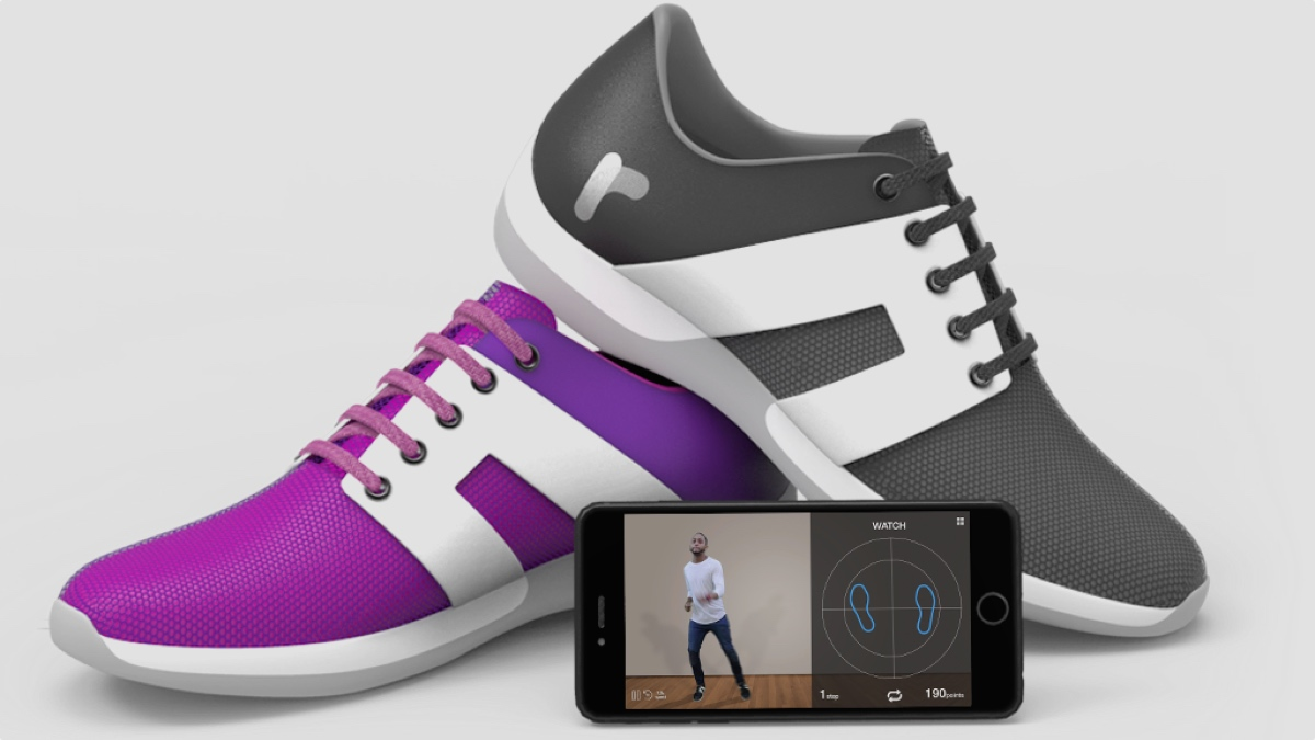 Smart dancing shoes will improve your moves