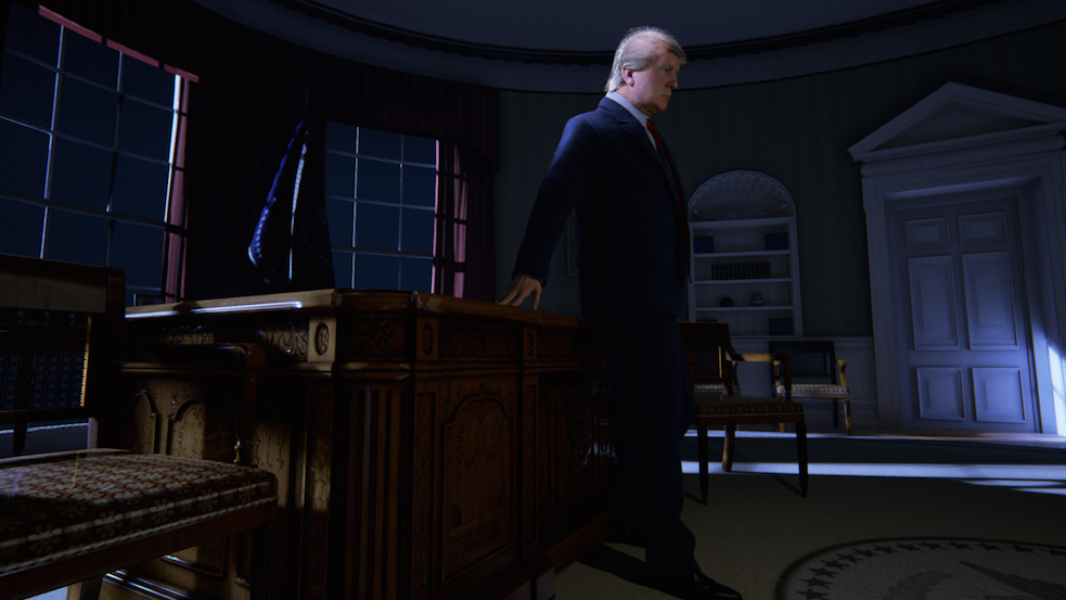 Virtual reality in the Age of Trump