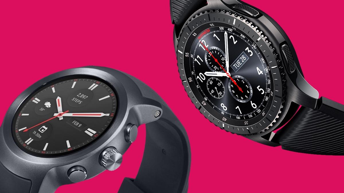 Samsung Gear S3 v LG Watch Sport