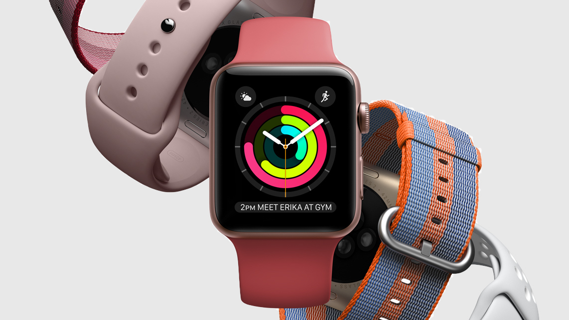 Spring bands for Apple Watch