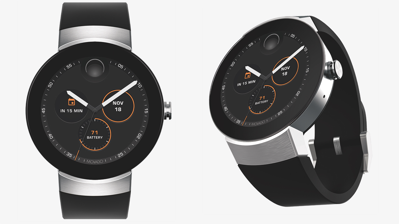 Movado's Android Wear smartwatch launches