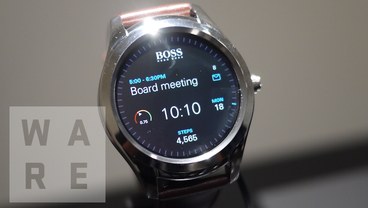 Hugo Boss Touch joins Android Wear club