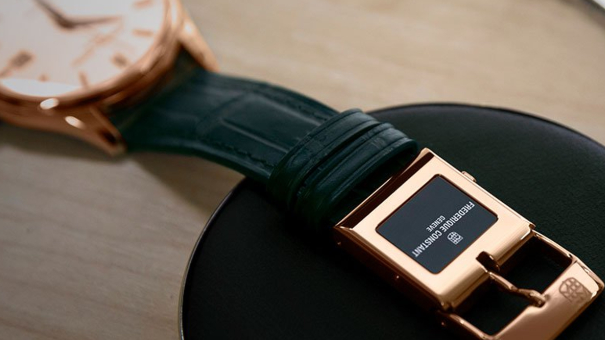 In detail: Frederique Constant E-Strap
