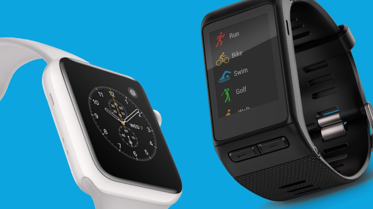 Apple Watch v Garmin Vivoactive HR