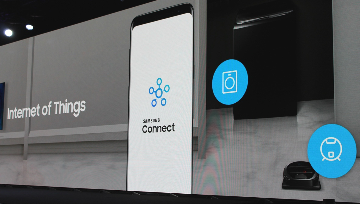 Samsung Connect manages your smart home