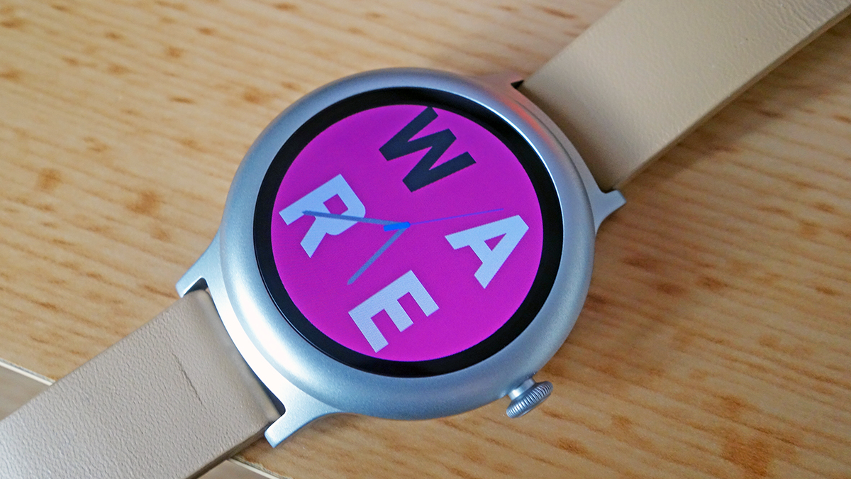 Design your Android Wear watch face