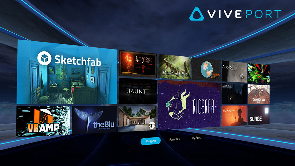 HTC turns on Viveport subscription service