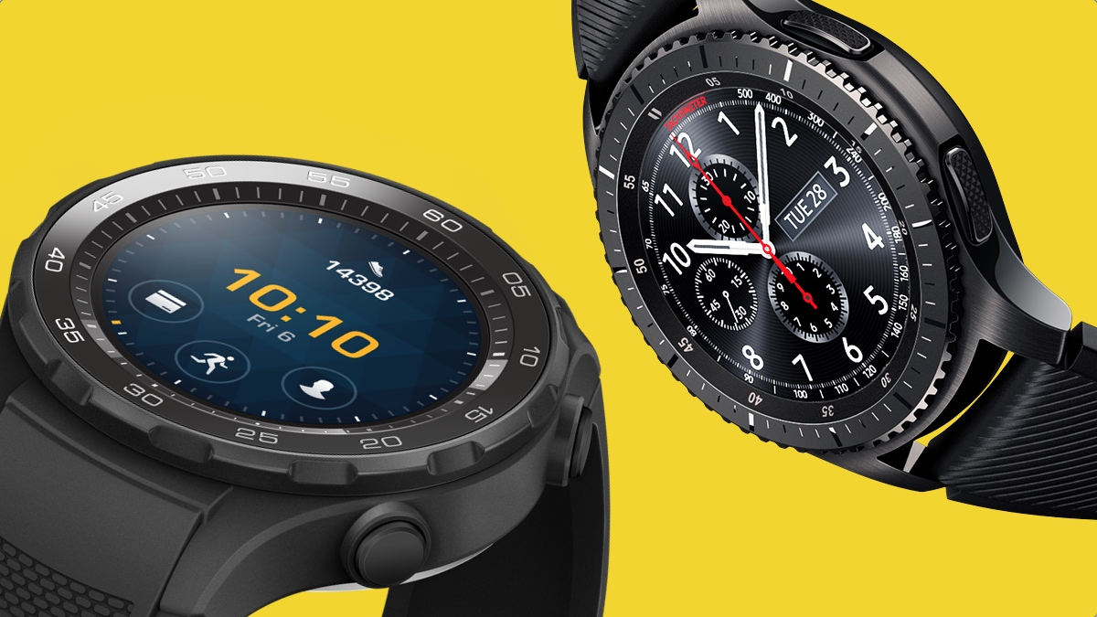 Samsung Gear S3 v Huawei Watch 2