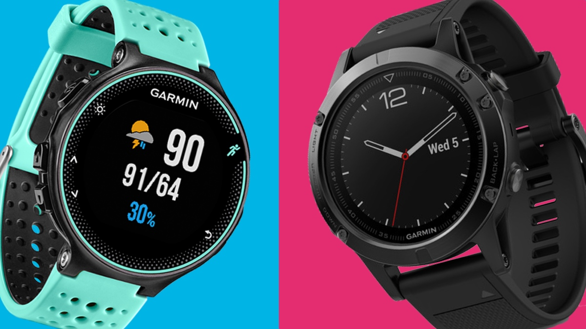 Garmin Forerunner 235 v Garmin Fenix 5: The siblings face off