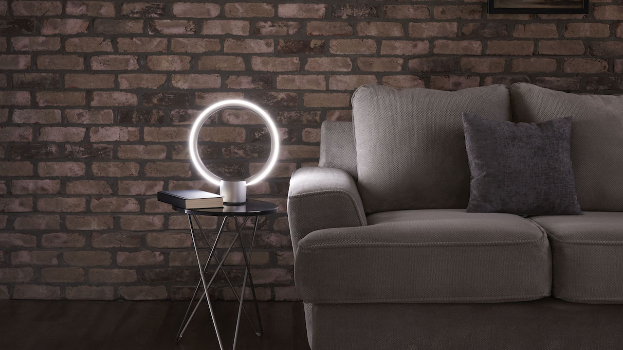 And finally: GE's futuristic Alexa lamp