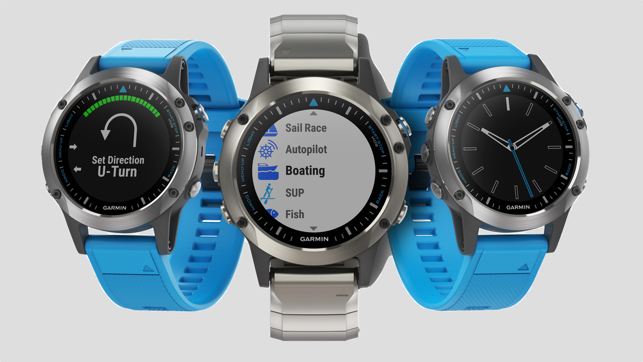 Garmin's new Quatix 5 is built for sea life