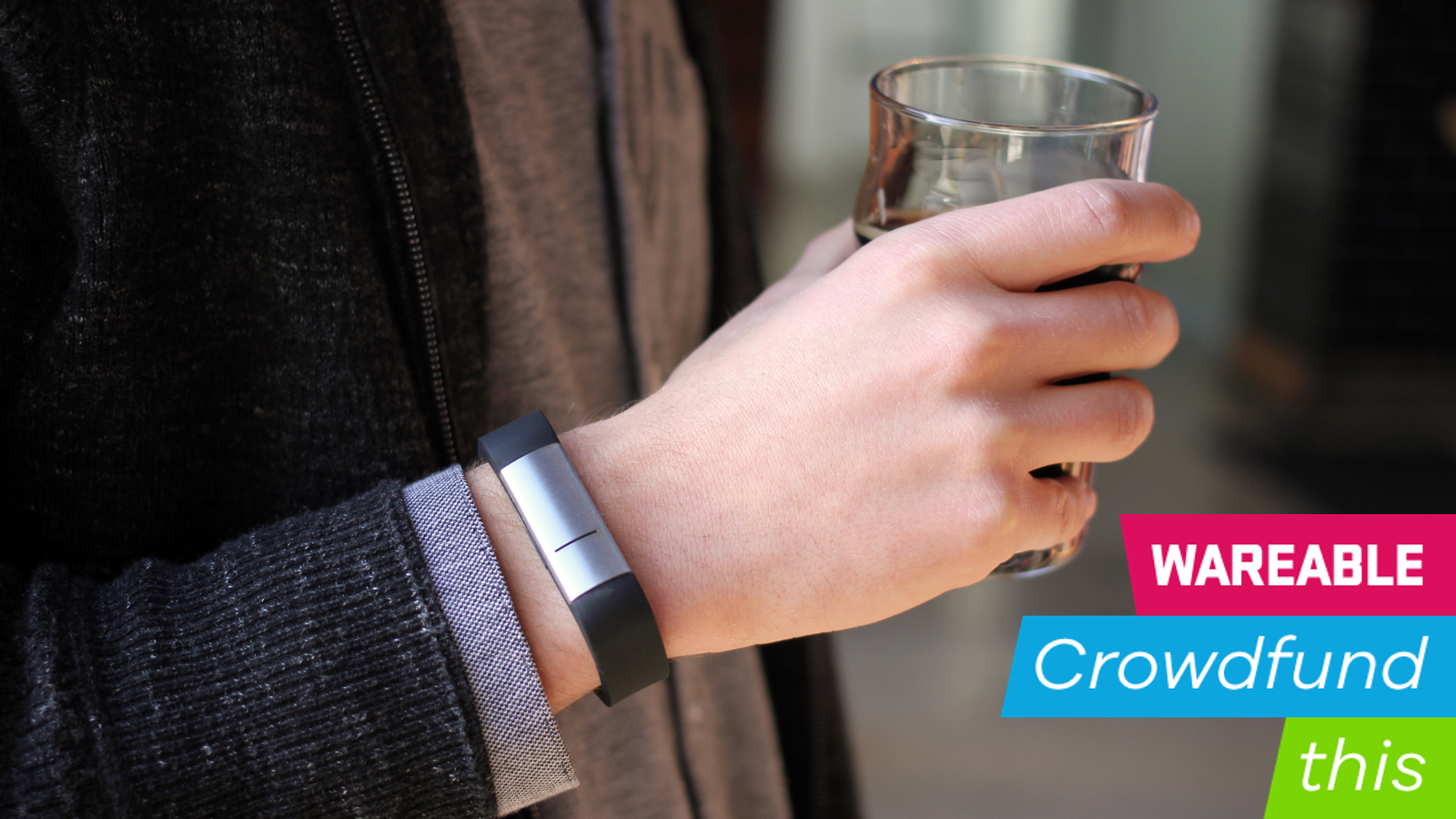 Proof is a wearable booze monitor