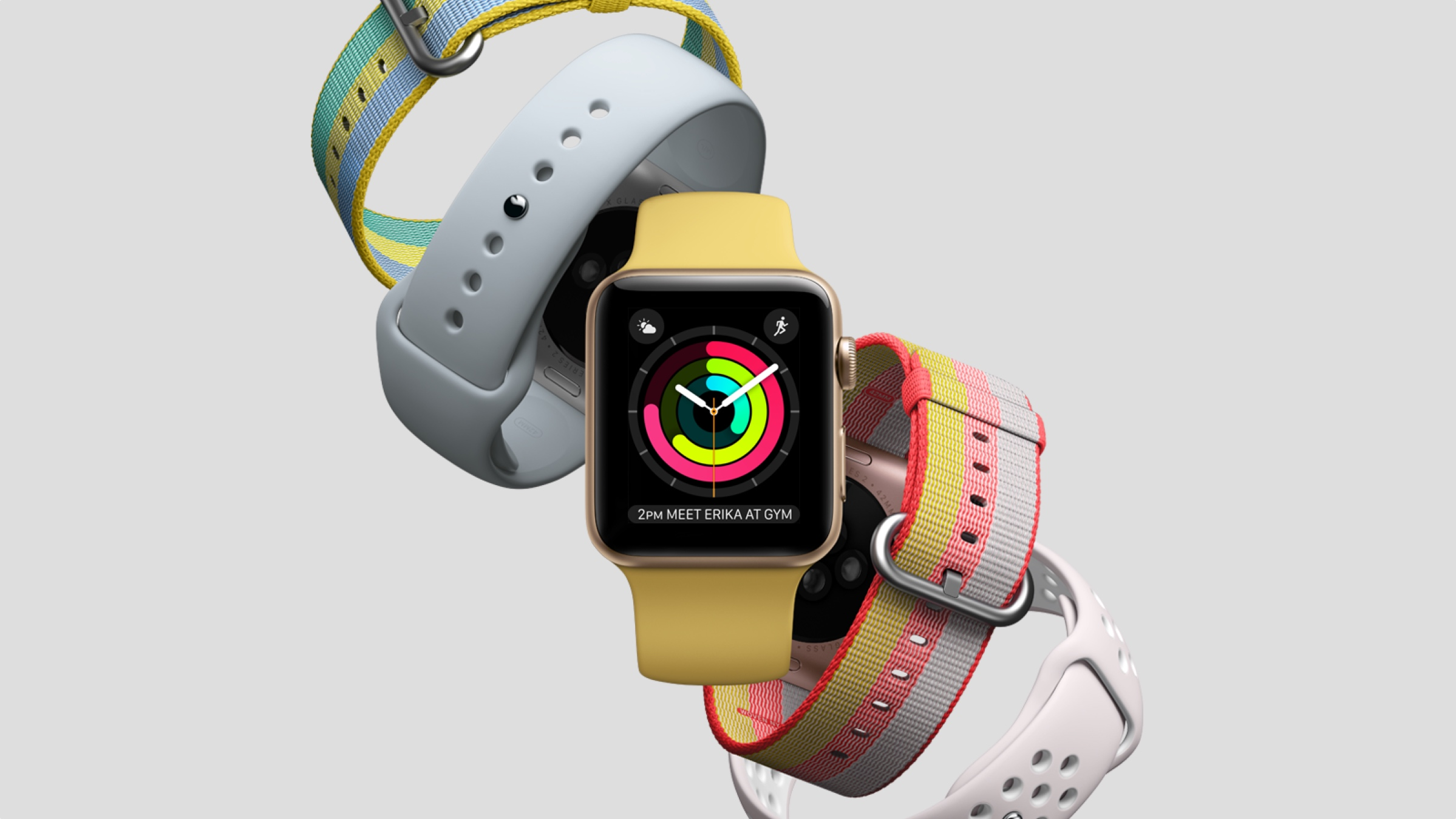 Apple Watch gets new summer strap range