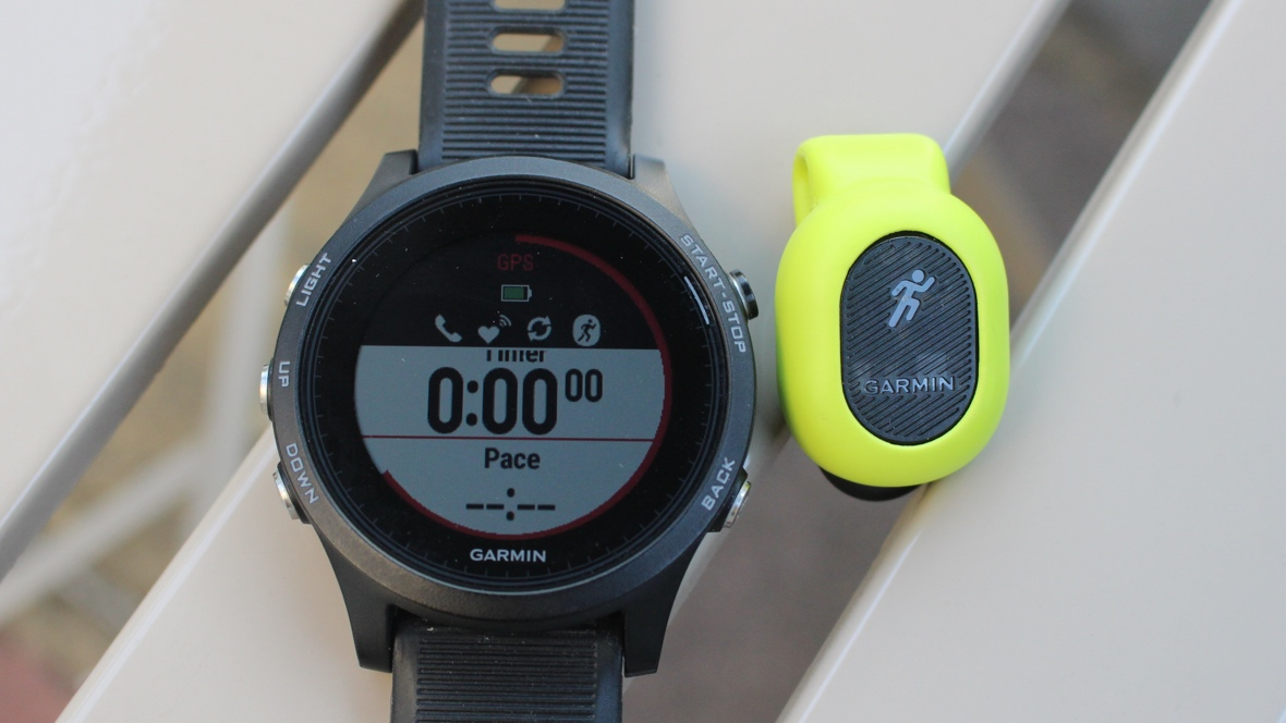 Running with Garmin's Running Pod