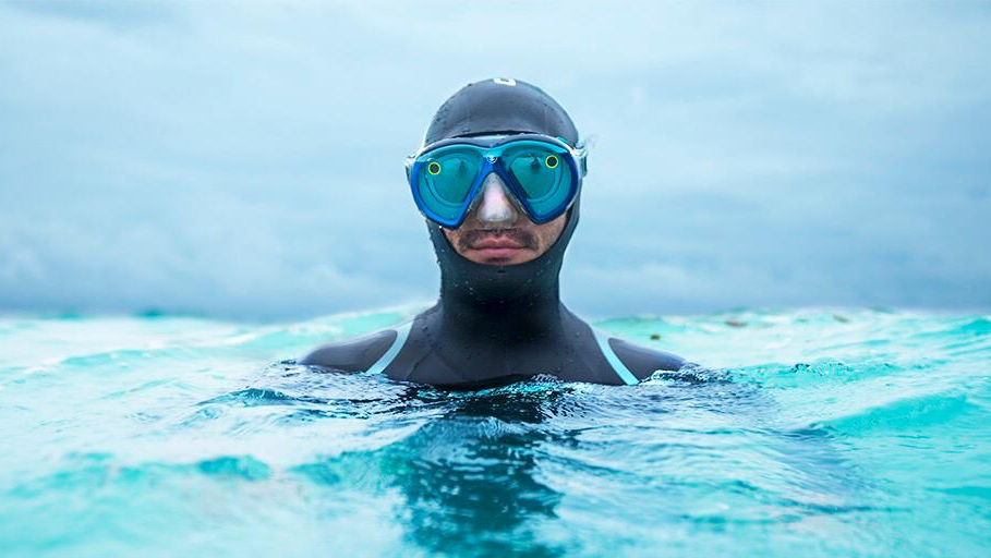 You could soon be diving with Spectacles