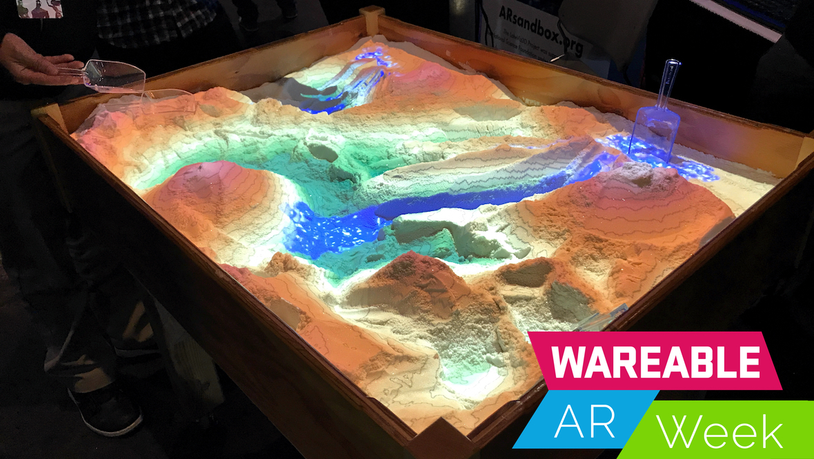 Inside UC Davis' AR Sandbox