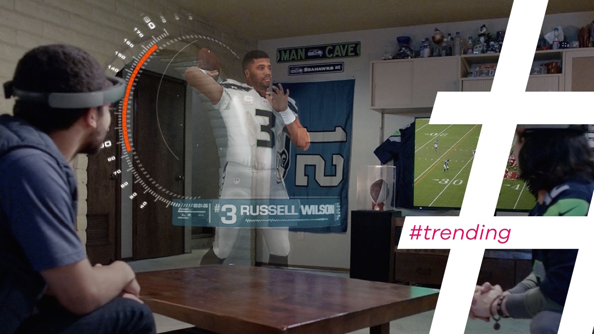 Trending: AR and sport collide