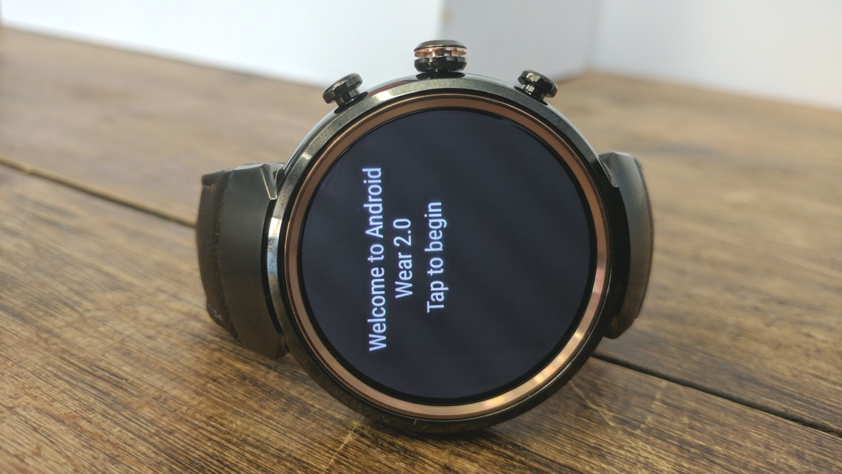 Android Wear 2.0 lands on ZenWatch 3