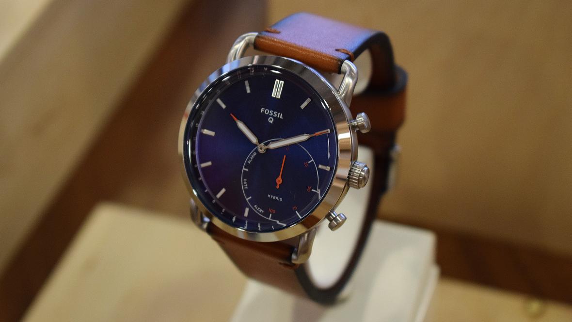 Fossil S Q Commuter Might Be Its Best Looking Hybrid Smartwatch Yet